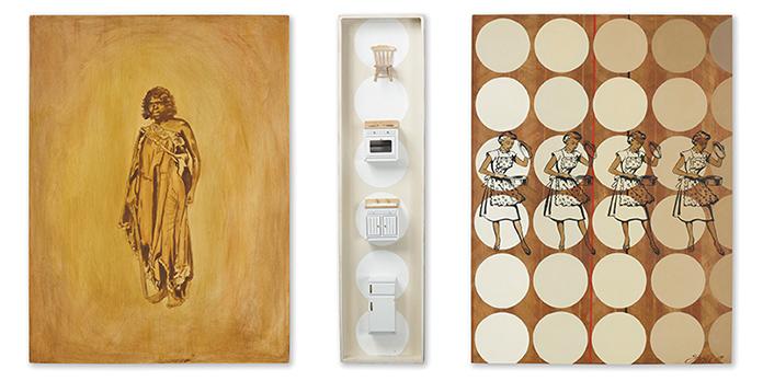 Untitled Sandra HillOil on wood