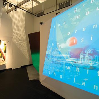 Masters Series: April Greiman exhibition documentation